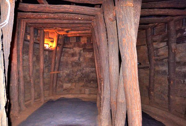 Кръглото помещение в храма